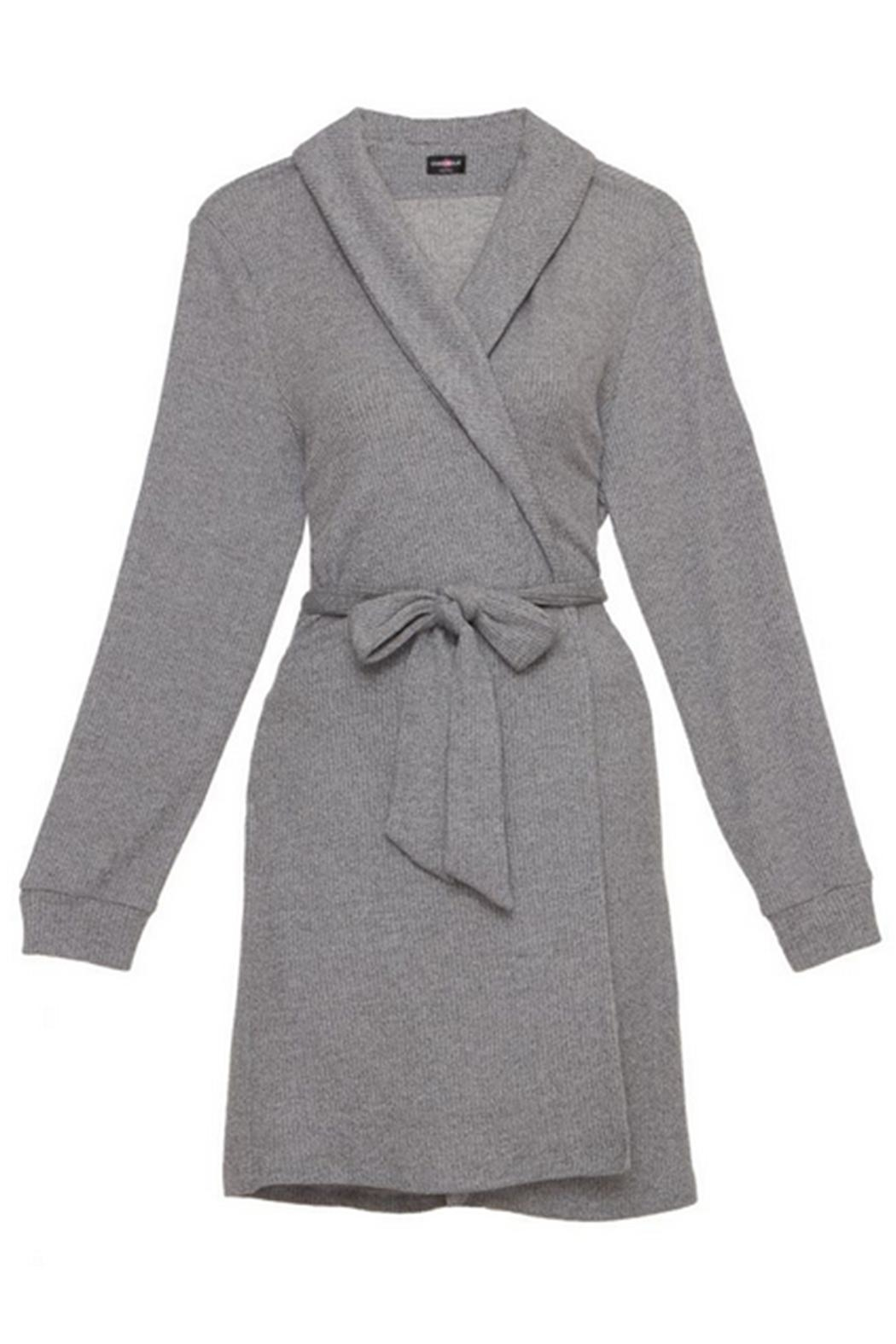 Cosabella Cozy Ribbed Robe - Main Image