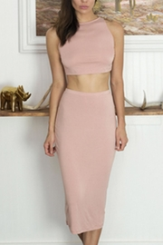 Cosabella Crop-Top & Skirt Set - Front cropped