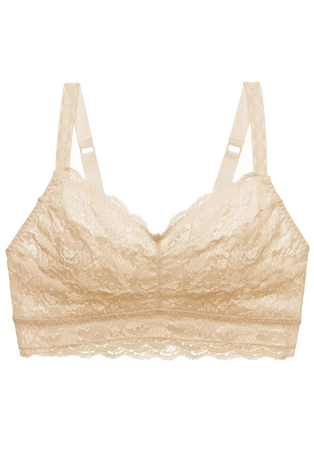 Cosabella Curvy Full-Bust Bralette - Back Cropped Image