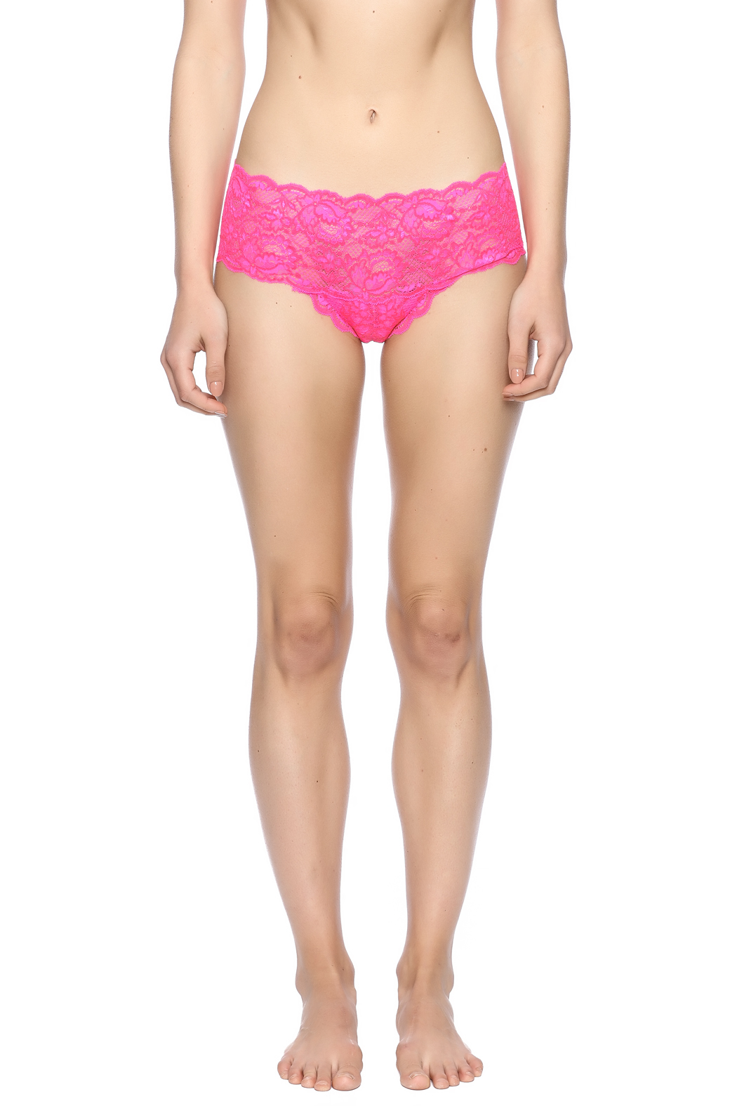 Cosabella Fluorescent Hot Pant - Side Cropped Image