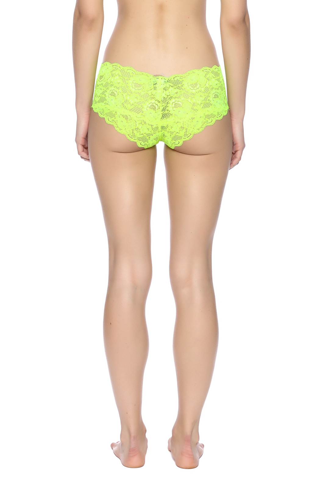 Cosabella Fluorescent Hot Pant - Back Cropped Image