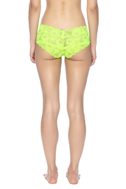 Cosabella Fluorescent Hot Pant - Back cropped