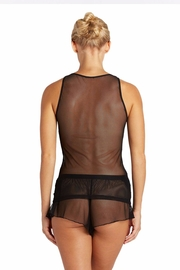 Cosabella Illusion Mesh Camisole - Front full body
