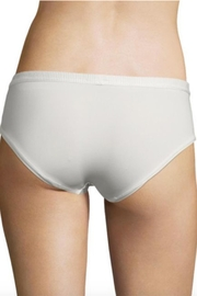 Cosabella Ivory Lace-Panel Hotpant - Front full body