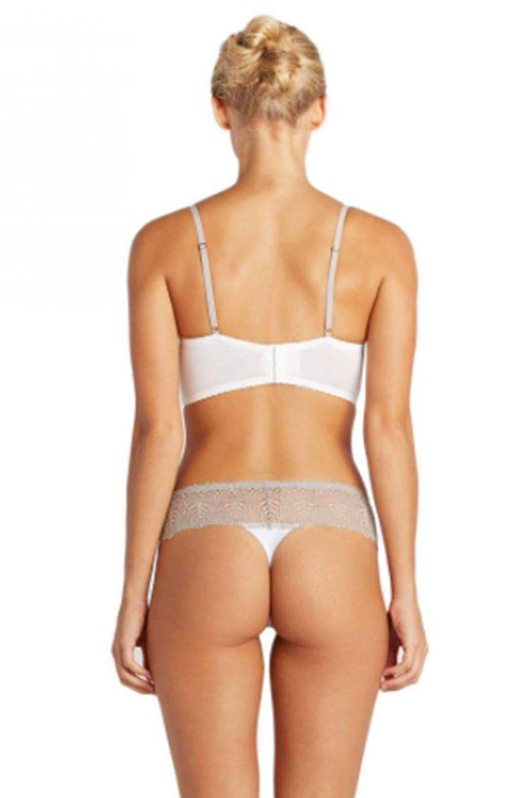 Cosabella Ivory Lowrise Thong - Front Full Image