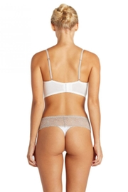 Cosabella Ivory Lowrise Thong - Front full body