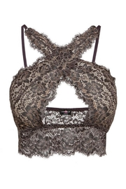 Cosabella Lace Criss-Cross Bralette - Side cropped