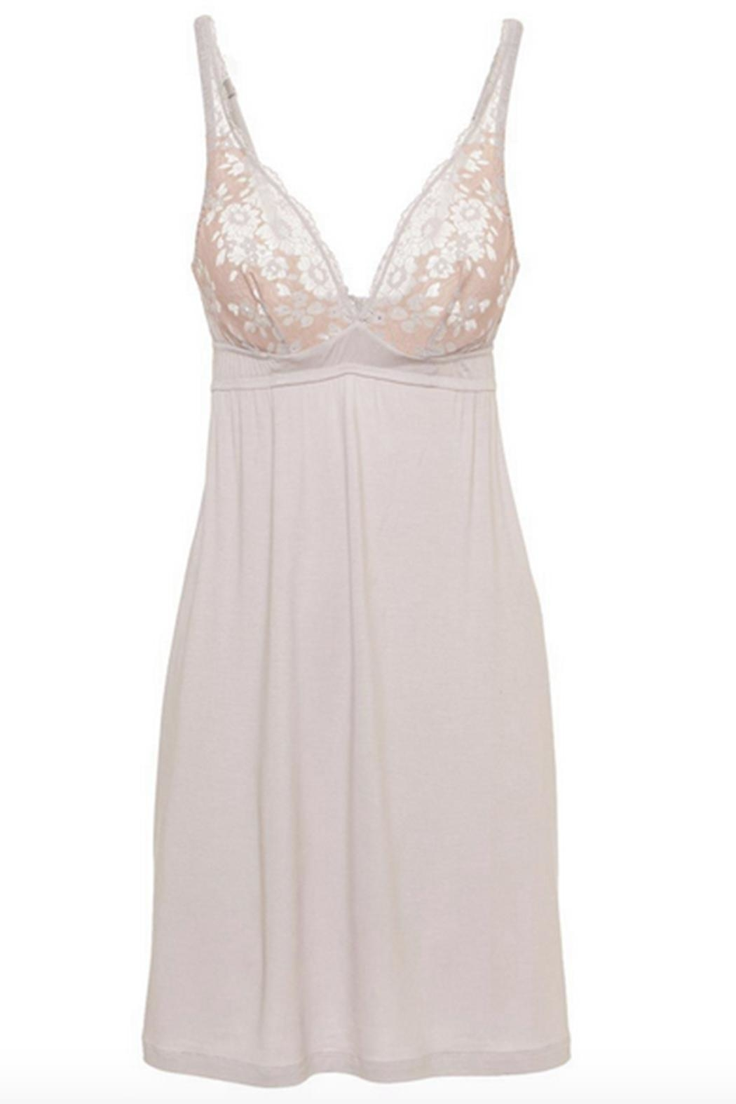 Cosabella Lace Cup Chemise - Front Full Image