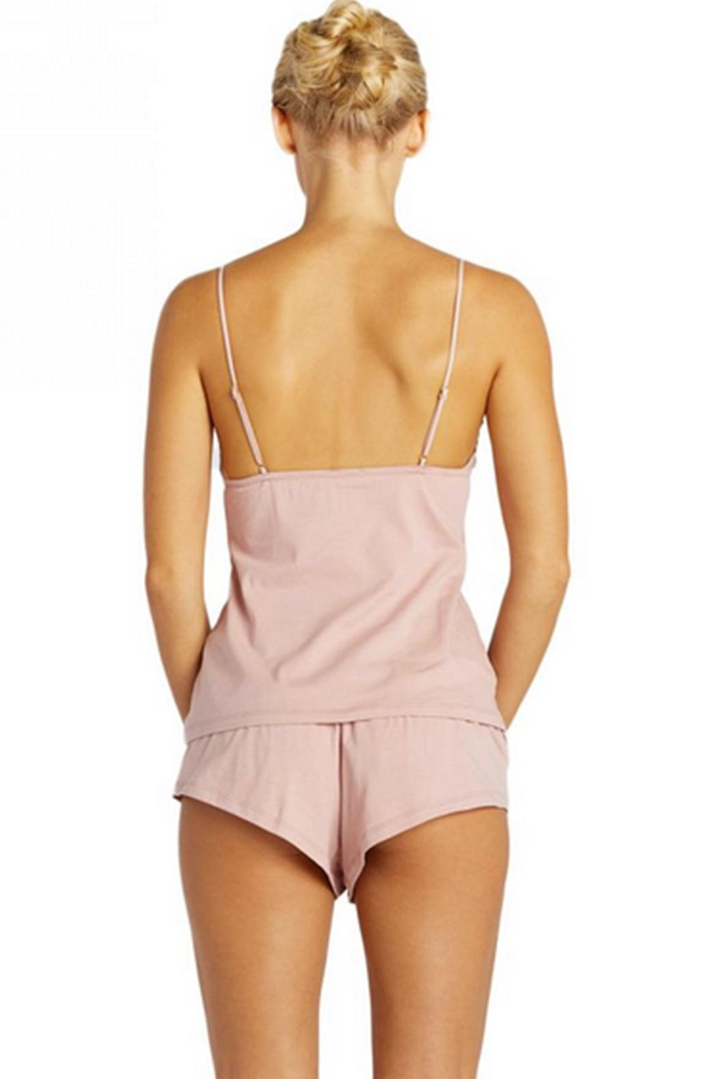 Cosabella Lace-Up Cami & Short - Front Full Image