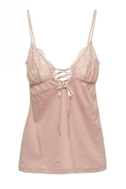 Cosabella Lace-Up Cami & Short - Side cropped