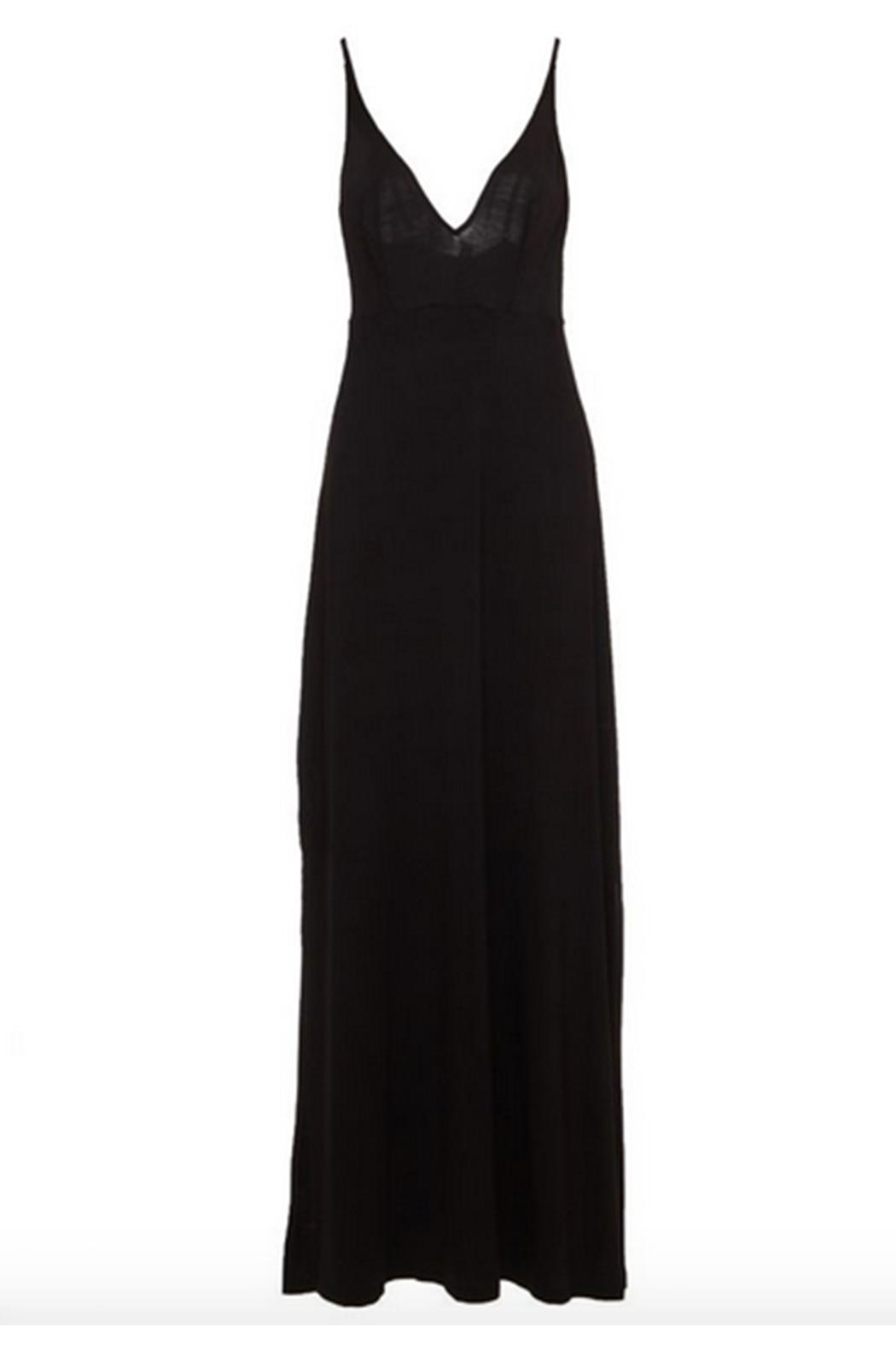 Cosabella Plunge-Neck Maxi Dress - Side Cropped Image