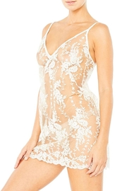 Cosabella Rosie Embroidered Chemise - Product Mini Image