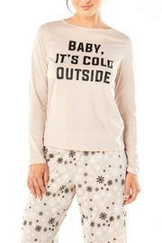 Cosabella Snowflake Cotton Pj-Set - Front cropped