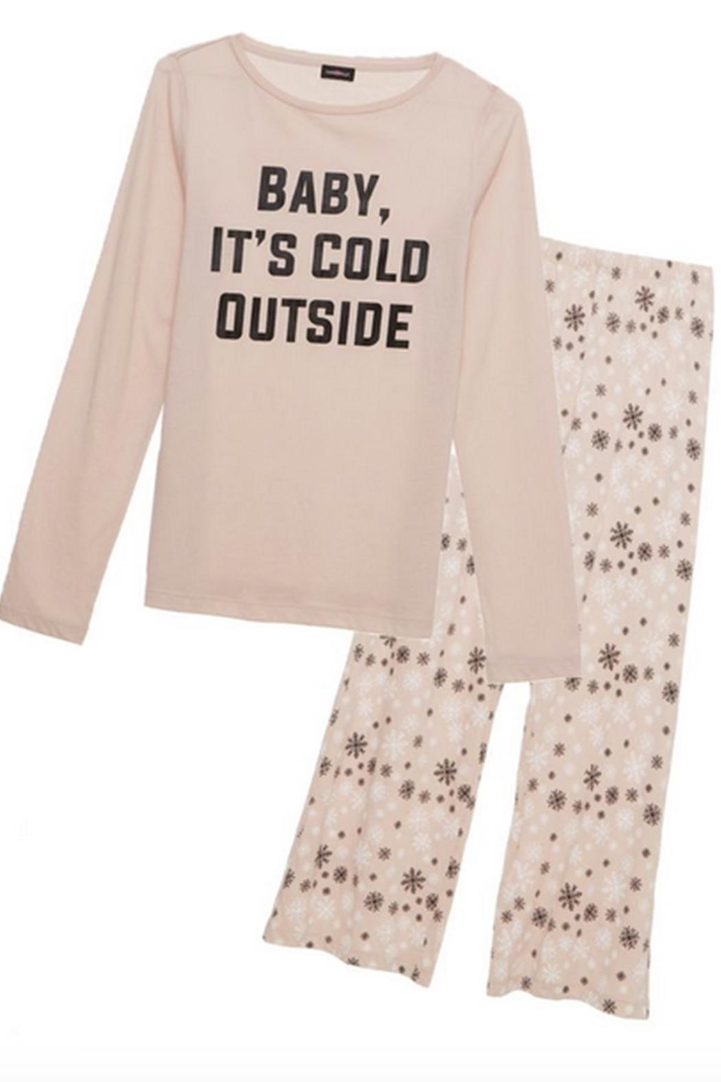 Cosabella Snowflake Cotton Pj-Set - Side Cropped Image