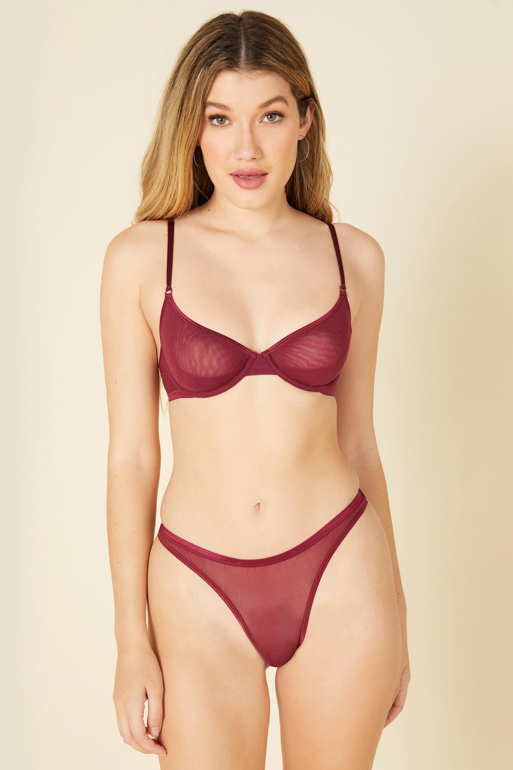 Cosabella Soire Confidence Classic Thong - Front Cropped Image