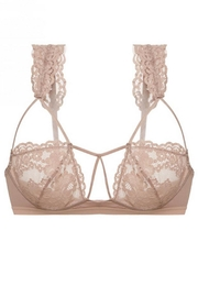Cosabella Strappy Bralette & Thong - Side cropped