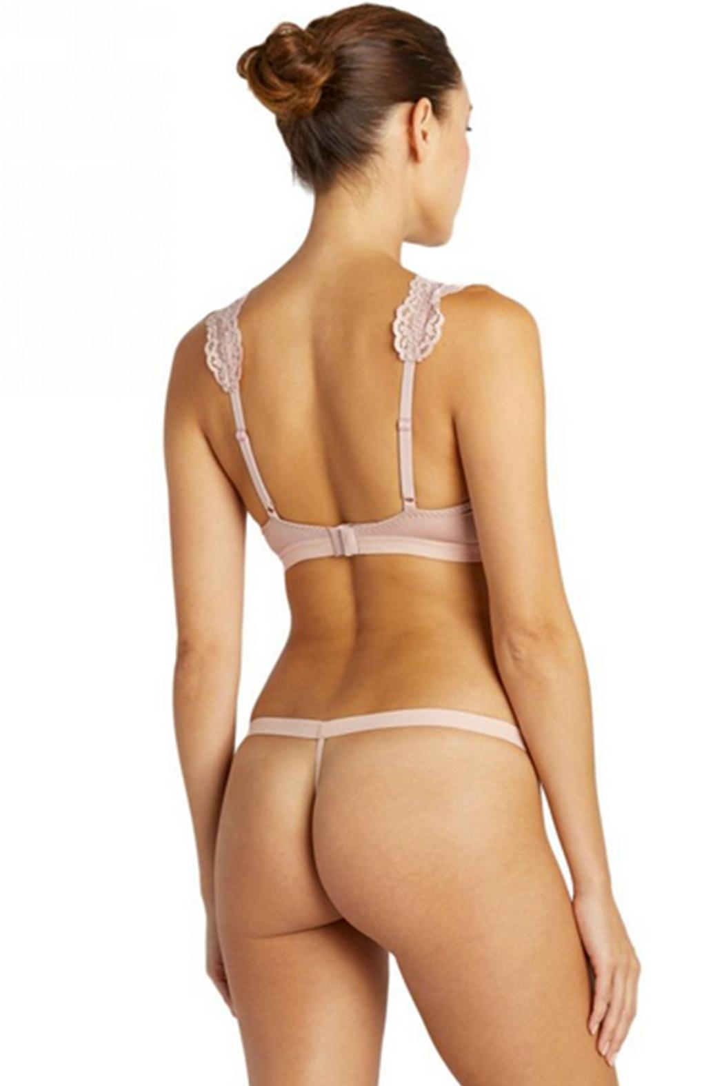 Cosabella Strappy Bralette & Thong - Front Full Image