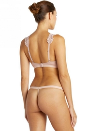 Cosabella Strappy Bralette & Thong - Front full body