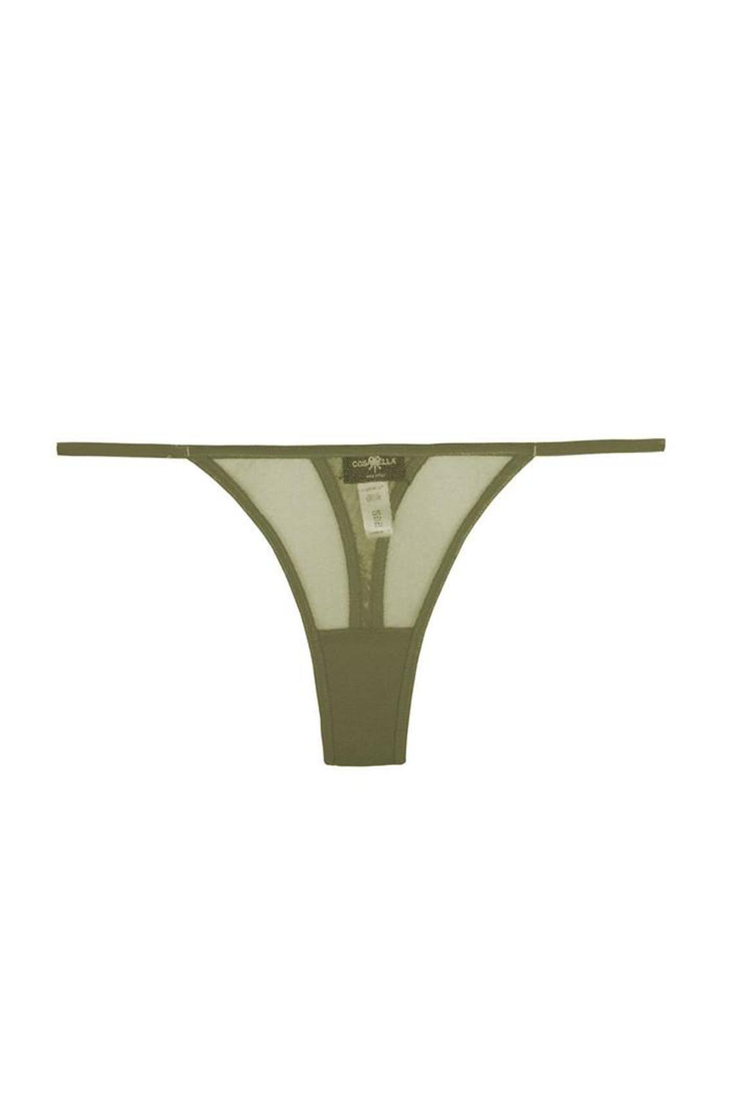 Cosabella Lingerie Olive Low-Rider Thong - Main Image