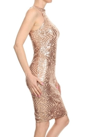 CALS Rose Gold Dress - Front full body