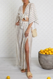 Lost in Lunar Cosette Wrap Top - Product Mini Image