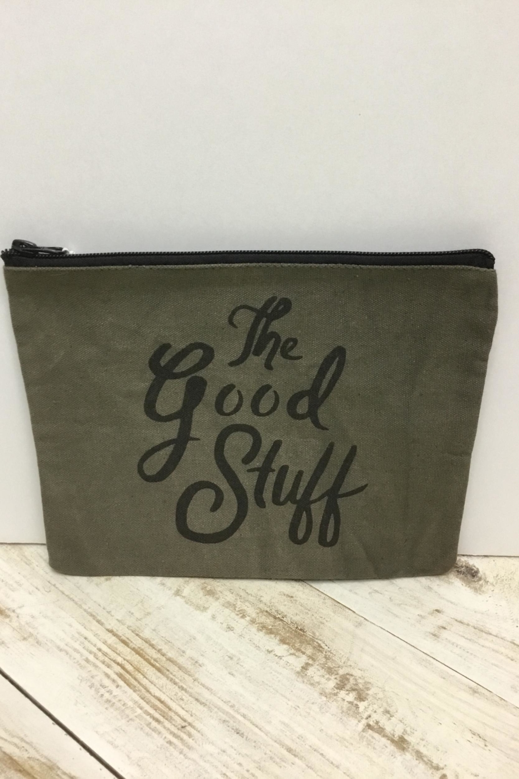 Creative Co-Op Cosmetic Bag - Main Image