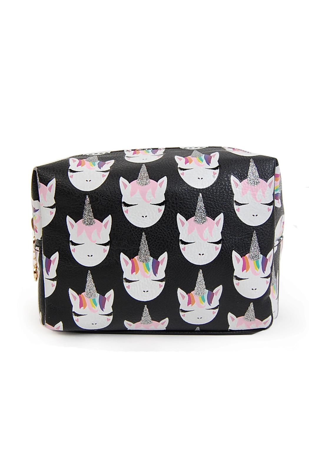 OMG! Accessories Cosmetics Pouch - Side Cropped Image