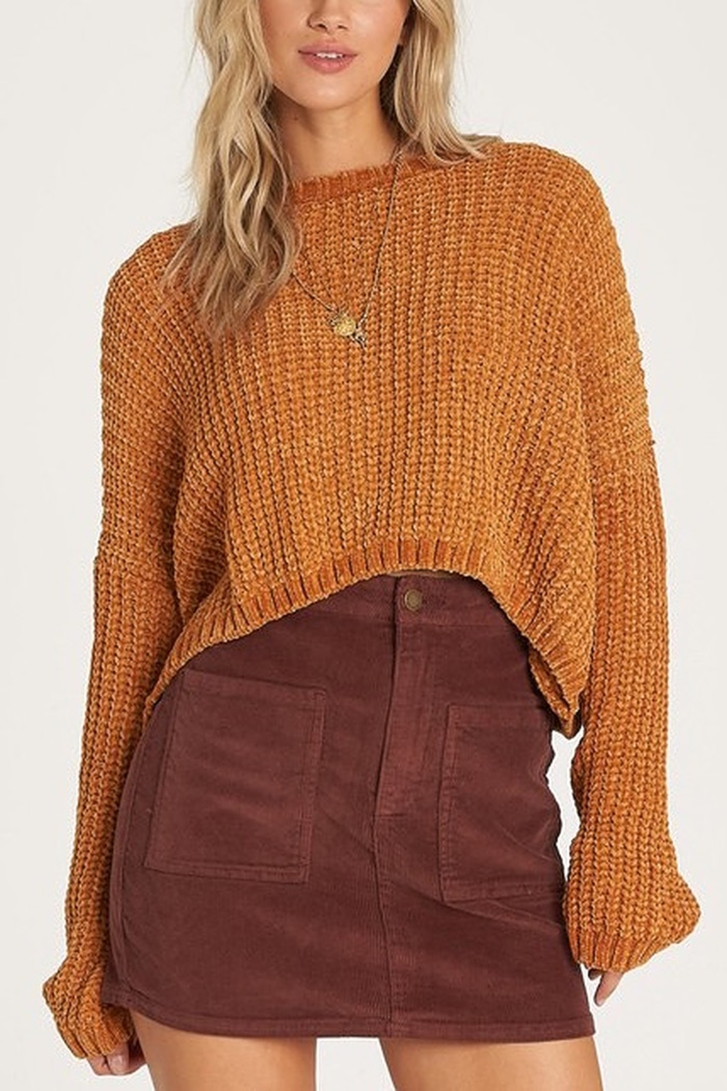 Billabong Cosmic Dream Slouchy Sweater - Front Cropped Image