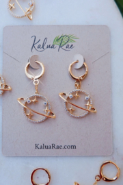 Kalua Rae Jewelry Cosmic Ear Huggies - Product Mini Image
