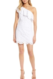 Cupcakes and Cashmere Cosmo Eyelet Dress - Front cropped