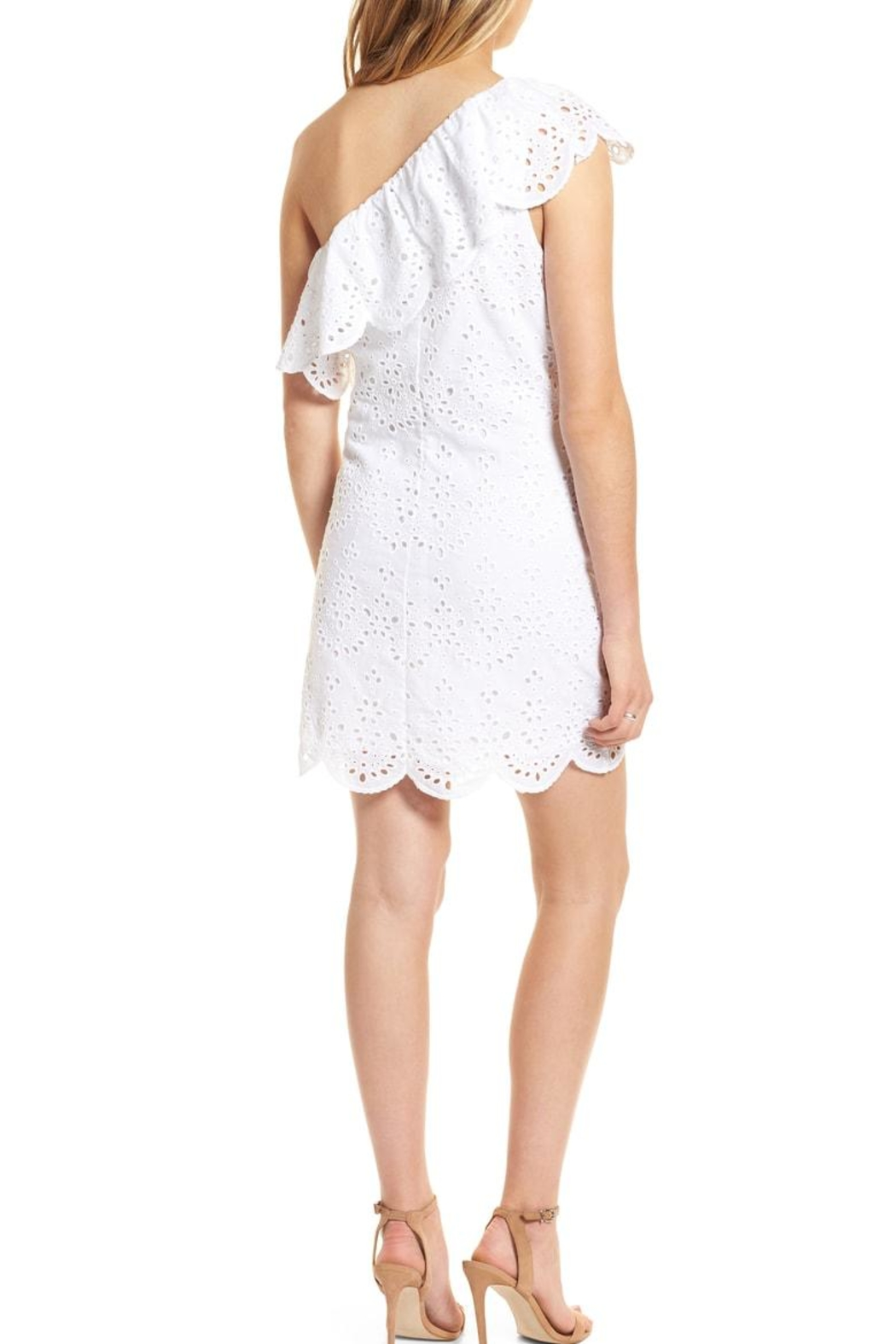 Cupcakes and Cashmere Cosmo Eyelet Dress - Front Full Image