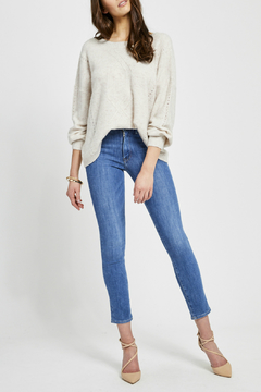 Gentle Fawn Cosmo V-Back Pindot Sweater - Product List Image
