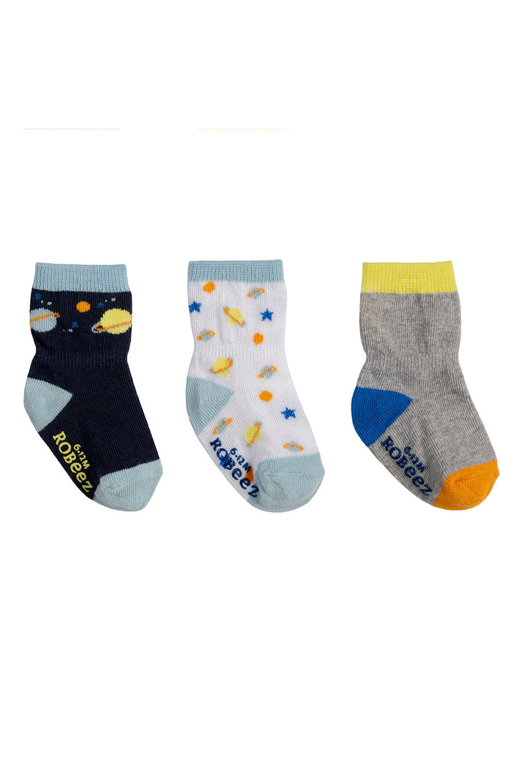 Robeez Cosmos Socks 3 Pack - Main Image