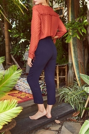 SAGE THE LABEL Costa Harem Pant - Front full body