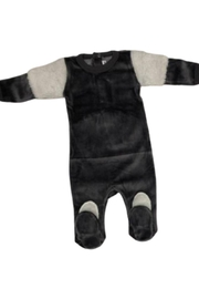 Coton PomPom  Peruvian Cotton Velour Footie - Product Mini Image