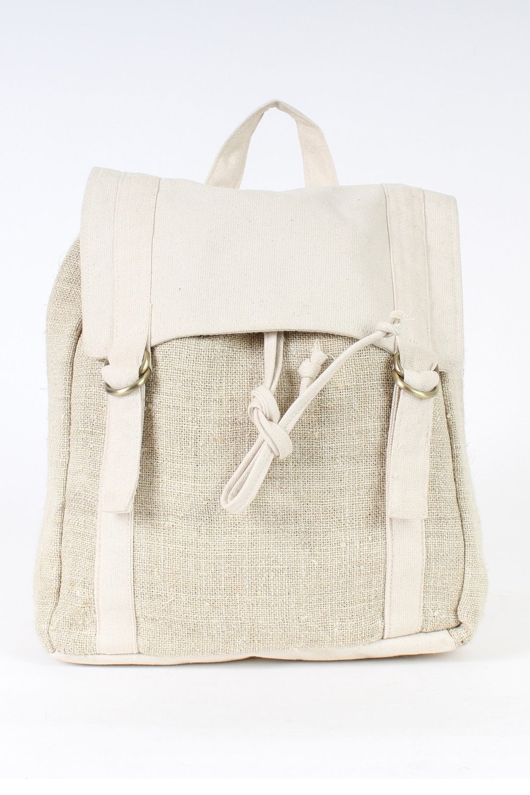 Lakhay's Collection cotton and hemp backpack - Main Image