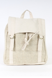 Lakhay's Collection cotton and hemp backpack - Product Mini Image