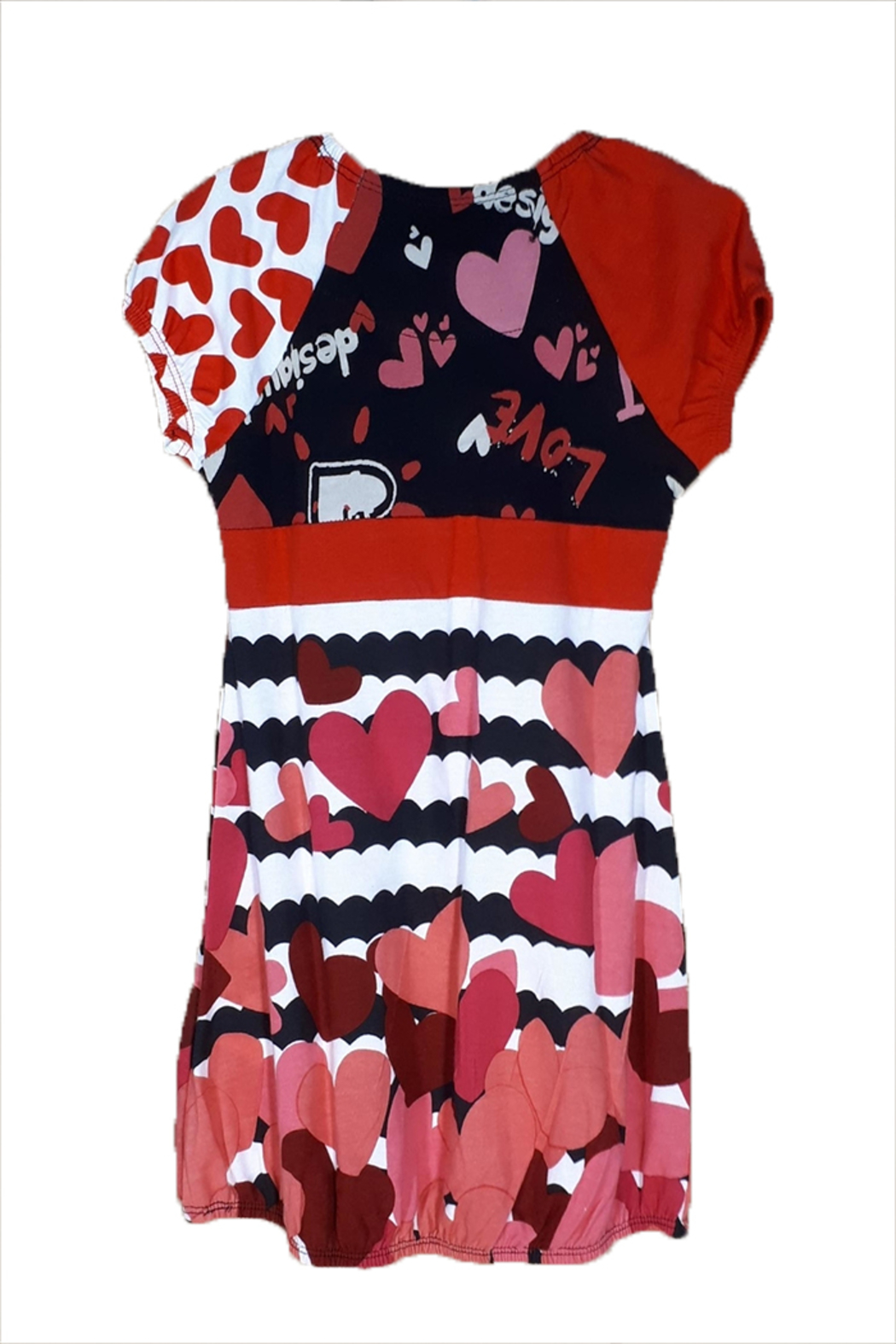 DESIGUAL Cotton Annapolis Dress - Front Full Image