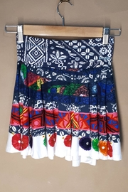 DESIGUAL Cotton Argencola Skirt - Front cropped