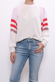 Xirena Cotton Blocked Sweater - Front cropped