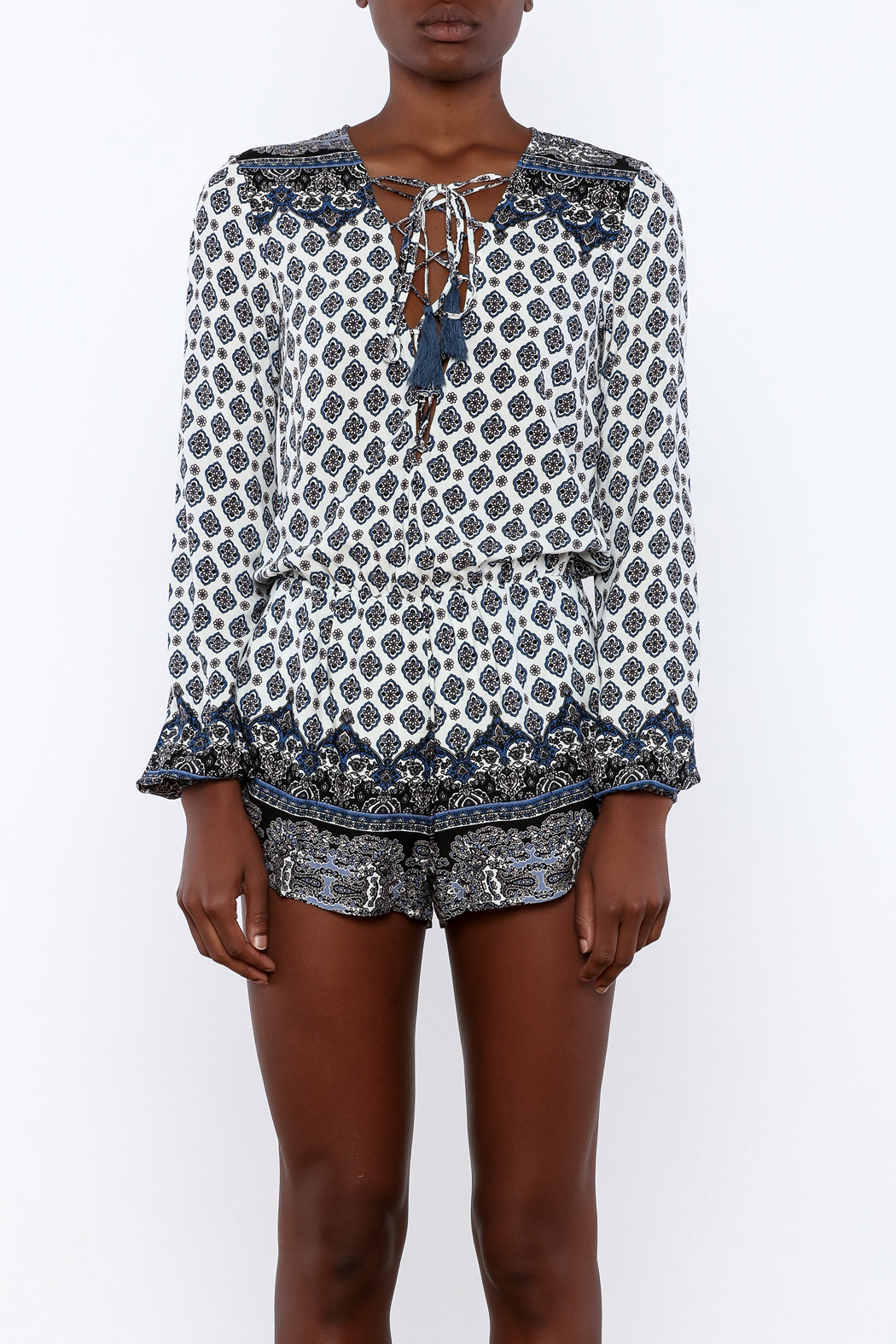 f948fa427 Cotton Candy Boho Babe Romper from New Orleans by Marigny House ...