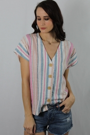 Lush Cotton Candy Buttonup - Product Mini Image