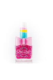Little Lady Cotton Candy Crush Scented Nail Polish - Front cropped