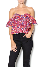 Cotton Candy Floral Sweetheart Top - Product Mini Image