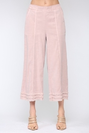 Fate Cotton Candy Frayed Culottes - Product Mini Image