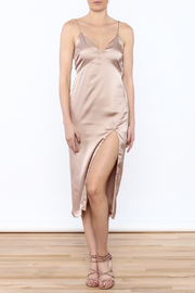 Cotton Candy Champagne Slip Dress - Product Mini Image