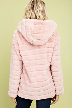 Main Strip Cotton-Candy Hooded Jacket - Alternate List Image