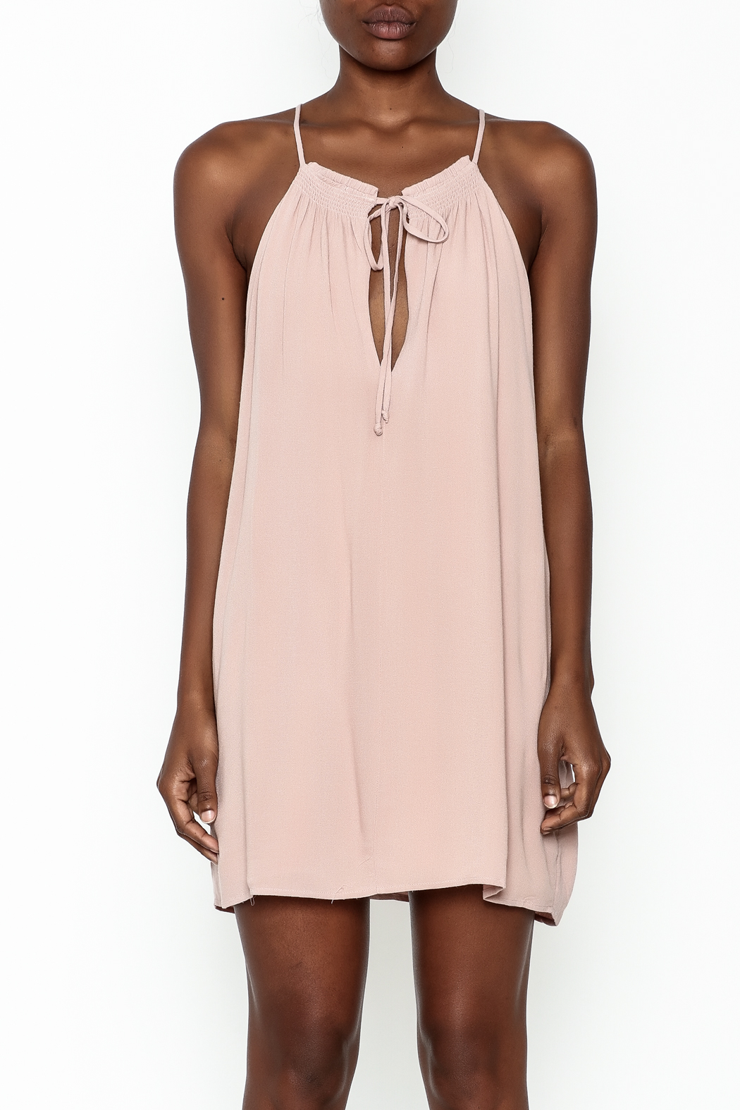Cotton Candy LA Clemence Dress - Front Full Image