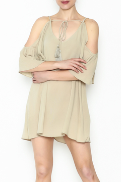 Shoptiques Product: Cold Shoulder Mini Dress