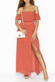 Cotton Candy LA Malibu Off Shoulder Dress - Product Mini Image
